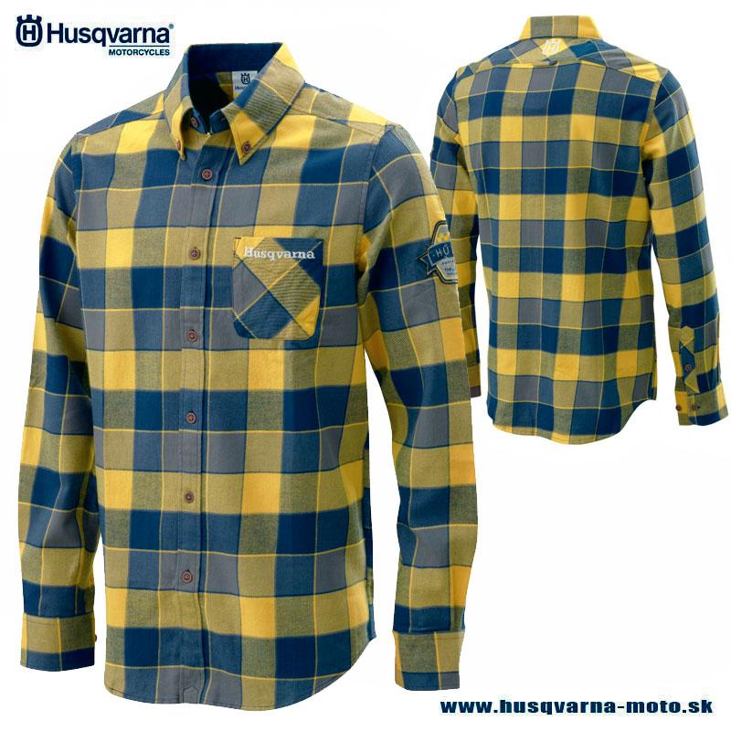 9ba035276d4b Husqvarna Pathfinder flanelová košeľa - Zľavy