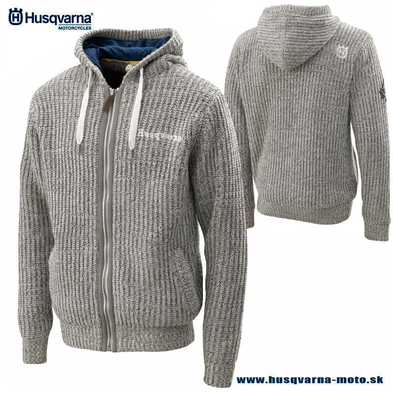 c76825711e Husqvarna Pathfinder sveter s kožušinou - Husky style