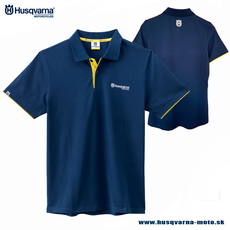 Husqvarna tričko Classic Polo - Husky style 0816bad1eeb